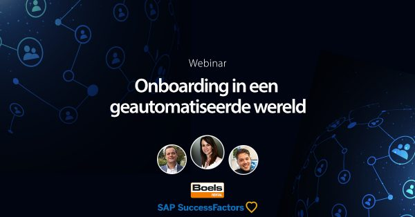 Onboarding SAP SuccessFactors